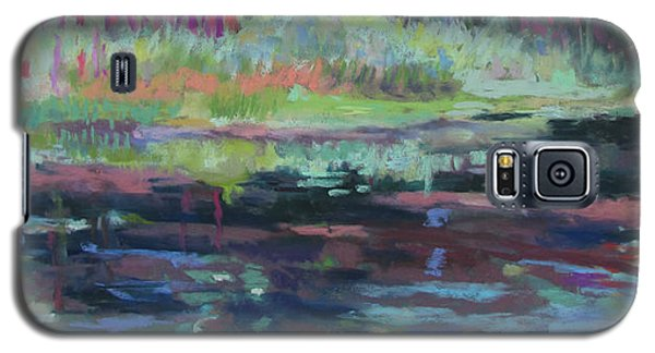 Beaver Pond Galaxy S5 Case by Linda Novick