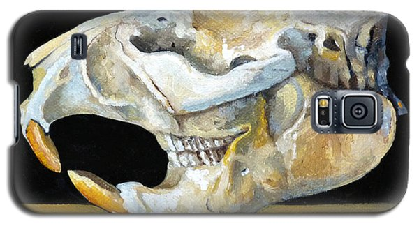 Beaver Skull 1 Galaxy S5 Case by Catherine Twomey