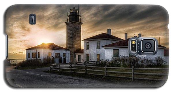 Beavertail Lighthouse Sunset Galaxy S5 Case