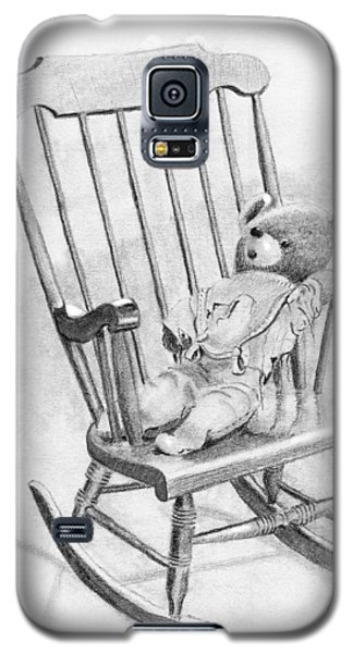 Galaxy S5 Case featuring the painting Becky's Teddy by Dan Redmon
