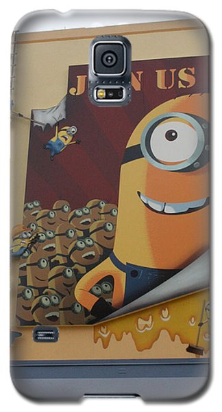 Become A Minion Galaxy S5 Case