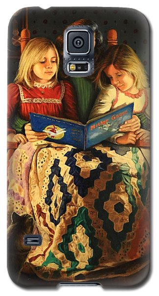 Galaxy S5 Case featuring the painting Bedtime Stories by Glenn Beasley