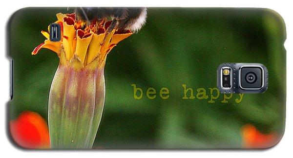 Bee Happy Galaxy S5 Case