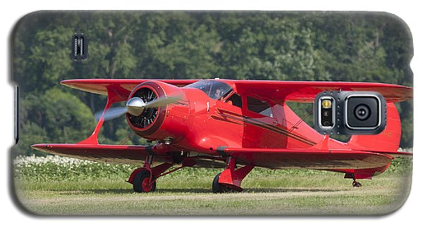 Galaxy S5 Case featuring the photograph Beechcraft Staggerwing I by Timothy McIntyre
