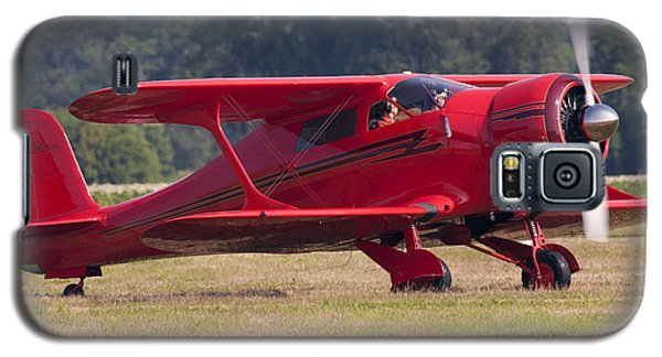 Galaxy S5 Case featuring the photograph Beechcraft Staggerwing by Timothy McIntyre