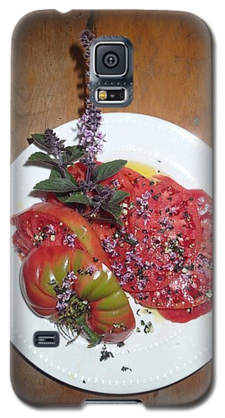 Galaxy S5 Case featuring the photograph Beefsteak by Robert Nickologianis