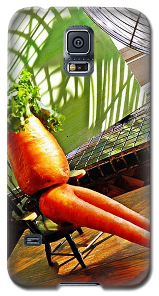 Beer Belly Carrot On A Hot Day Galaxy S5 Case