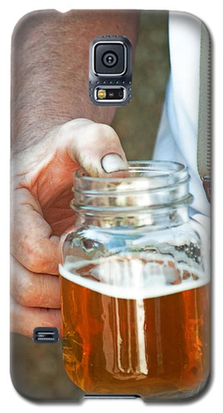 Galaxy S5 Case featuring the photograph Beer He Drank by Gwyn Newcombe