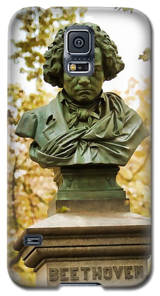 Beethoven In Central Park Galaxy S5 Case by Alice Gipson