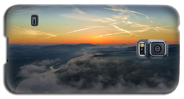 Before Sunrise On The Lilienstein Galaxy S5 Case