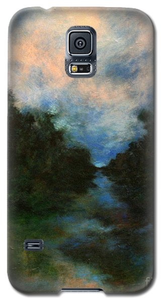 Galaxy S5 Case featuring the painting Before The Dream by Alison Caltrider