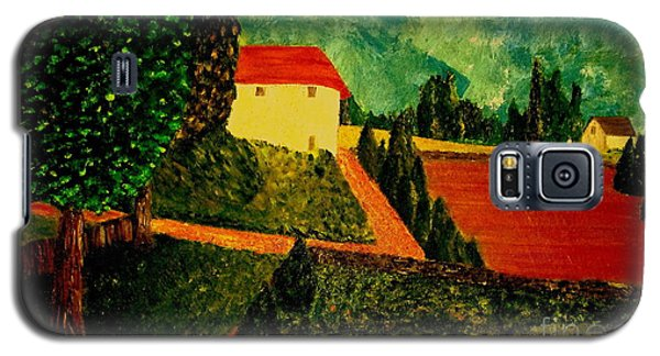 Galaxy S5 Case featuring the painting Before The Rain by Bill OConnor