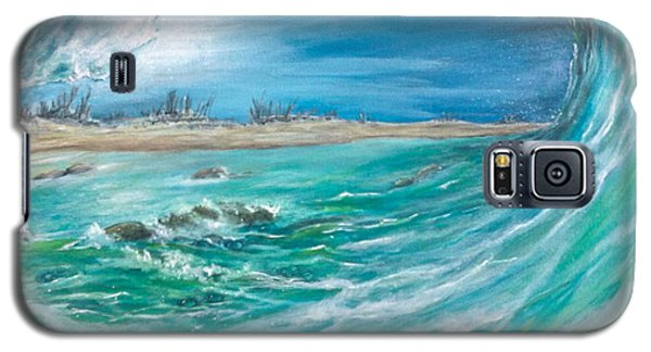 Galaxy S5 Case featuring the painting Before The Storm by Dawn Harrell