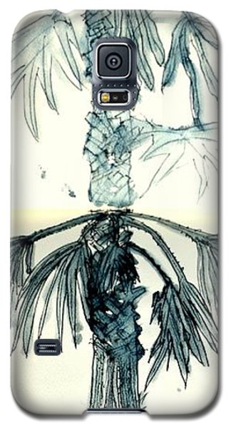 Galaxy S5 Case featuring the drawing Beginnings by Antonia Citrino