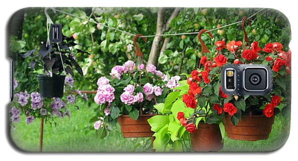 Begonias On Line Galaxy S5 Case
