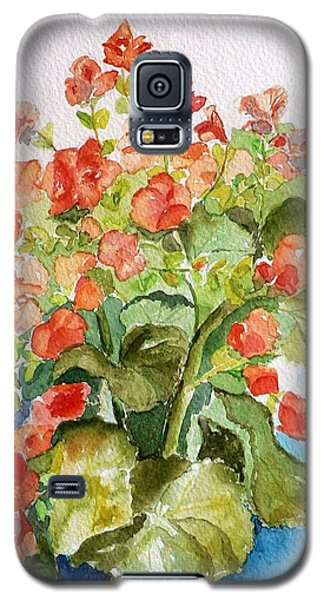 Begonias Still Life Galaxy S5 Case