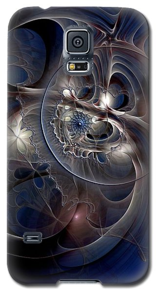 Galaxy S5 Case featuring the digital art Beguiled At Twilight by Casey Kotas