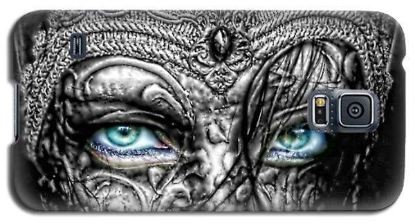 Behind Blue Eyes Galaxy S5 Case by Mo T