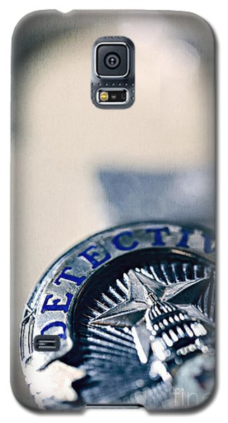 Galaxy S5 Case featuring the photograph Behind The Badge by Trish Mistric