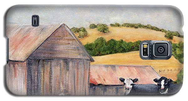 Behind The Barn Galaxy S5 Case by Terry Taylor