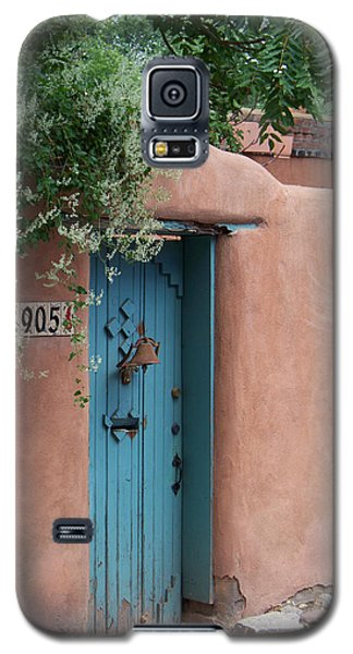 Galaxy S5 Case featuring the photograph Behind The Blue Door by Sylvia Thornton