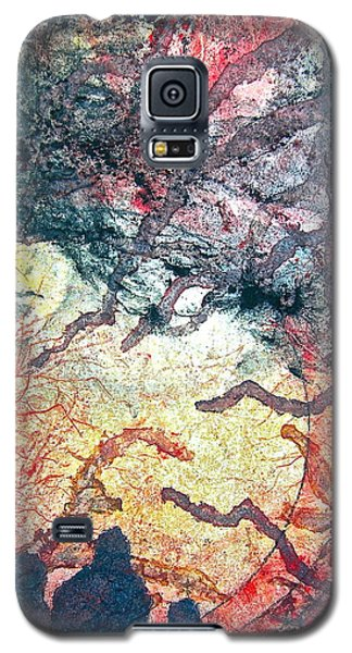 Behind Tomorrow's Memories Galaxy S5 Case by Carolyn Rosenberger