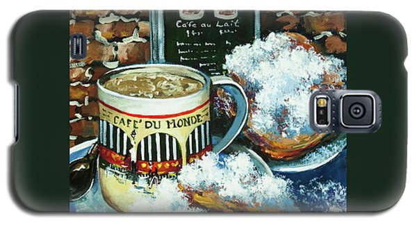 Beignets And Cafe Au Lait Galaxy S5 Case by Dianne Parks