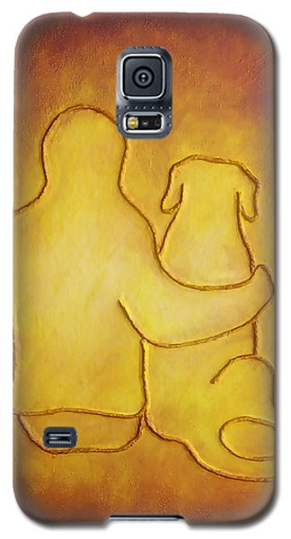 Being There 2 - Dog And Friend Galaxy S5 Case