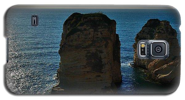 Beirut Pigeon Rocks Galaxy S5 Case by Steven Richman