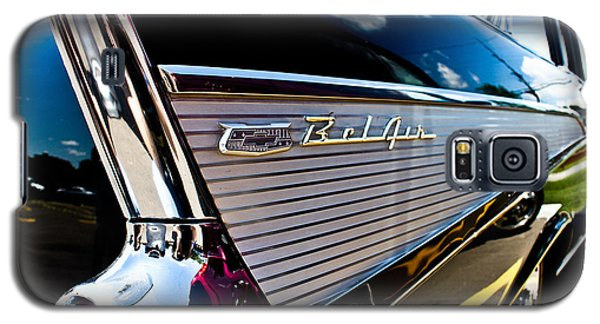 Galaxy S5 Case featuring the photograph Bel Air Reflections by Joann Copeland-Paul