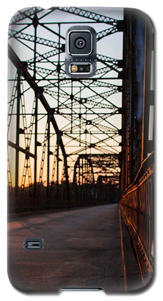 Belford Bridge At Sunset Galaxy S5 Case