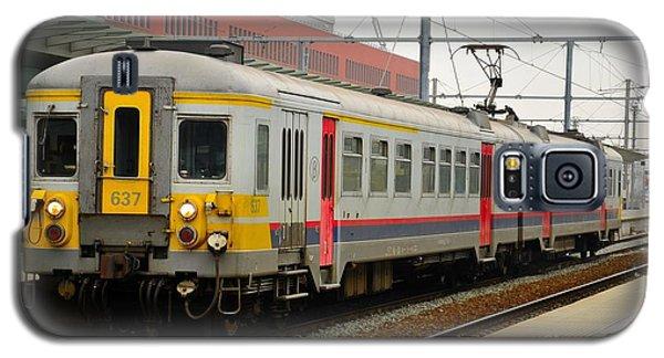 Belgium Railways Commuter Train At Brugge Railway Station Galaxy S5 Case