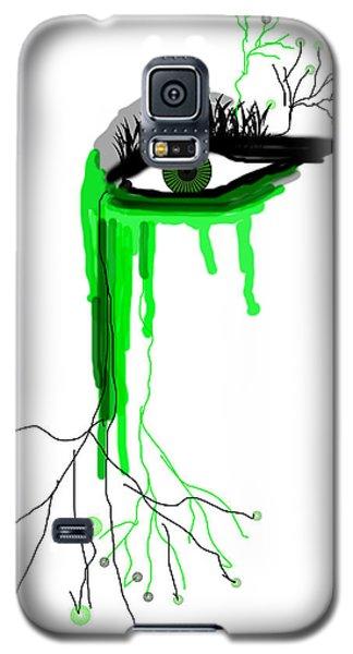 Galaxy S5 Case featuring the digital art Believe Me by Sladjana Lazarevic