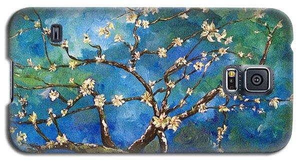 Belinda's Almond Blossoms Galaxy S5 Case by Belinda Low