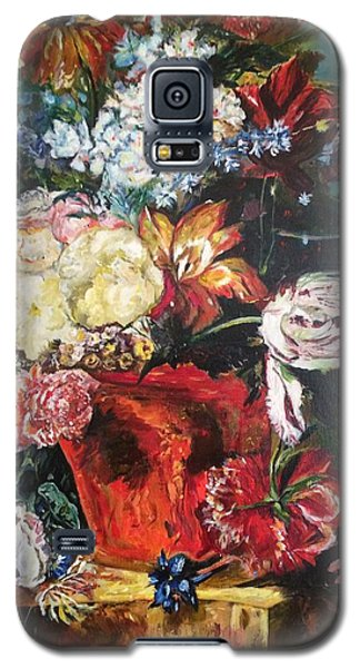Life Is A Bouquet Of Flowers  Galaxy S5 Case by Belinda Low