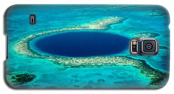 Belize Blue Hole Galaxy S5 Case