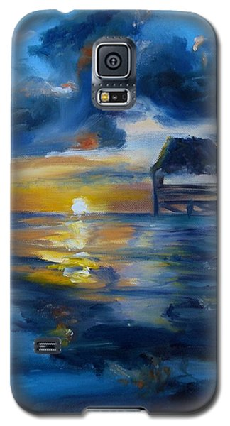 Belizean Sunrise Galaxy S5 Case