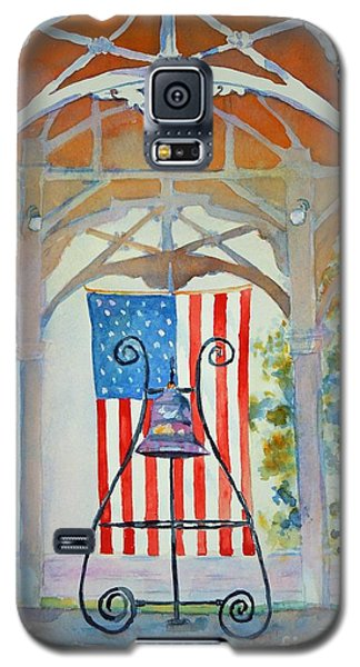 Bell And Flag Galaxy S5 Case by Mary Haley-Rocks