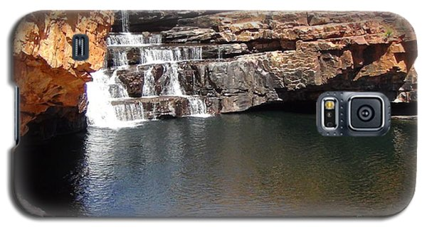 Galaxy S5 Case featuring the photograph Bell Falls by Tony Mathews
