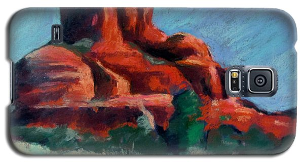 Bell Rock Sedona Galaxy S5 Case by Linda Novick