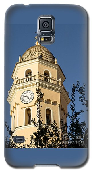 Bell Tower Of Vernazza Galaxy S5 Case