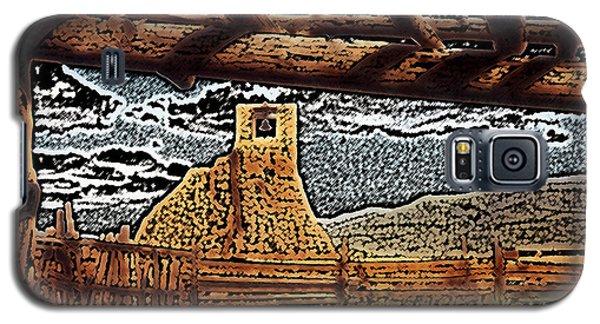 Bell Tower Ruins At Taos Pueblo Galaxy S5 Case