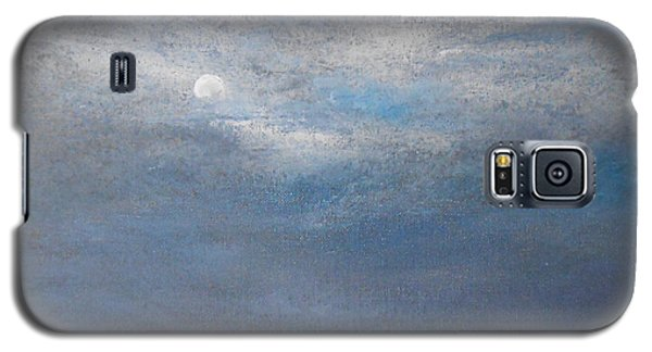 Galaxy S5 Case featuring the painting Bella Luna by Jane  See
