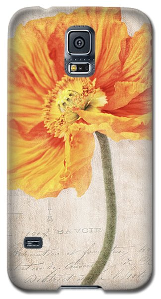 Bella Orange Galaxy S5 Case