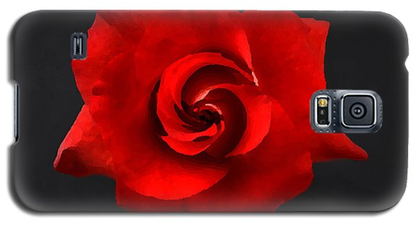 Galaxy S5 Case featuring the photograph Bella Rosa by Lorenzo Cassina