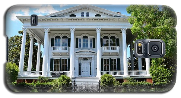 Galaxy S5 Case featuring the photograph Bellamy Mansion by Bob Sample
