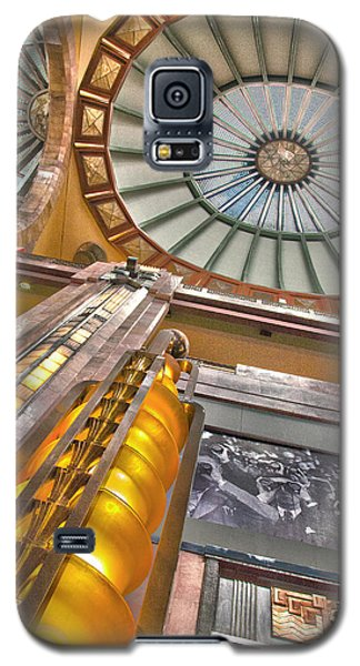 Galaxy S5 Case featuring the photograph Bellas Artes Interior by John  Bartosik