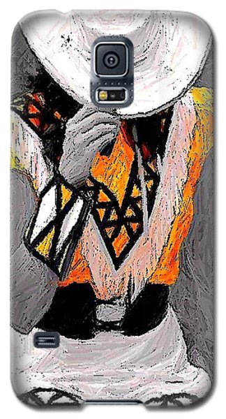 Belle Art 26 Galaxy S5 Case by Carrie OBrien Sibley