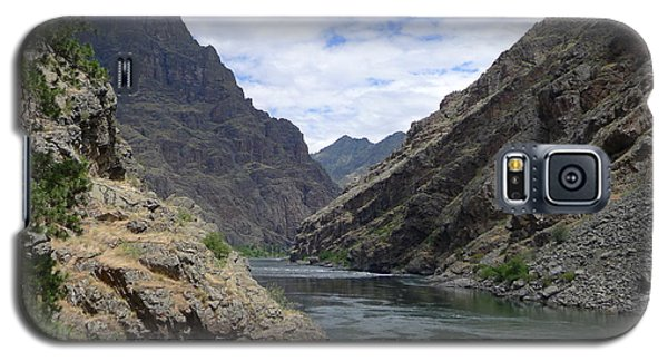 Below Hells Canyon Dam Galaxy S5 Case by Joel Deutsch