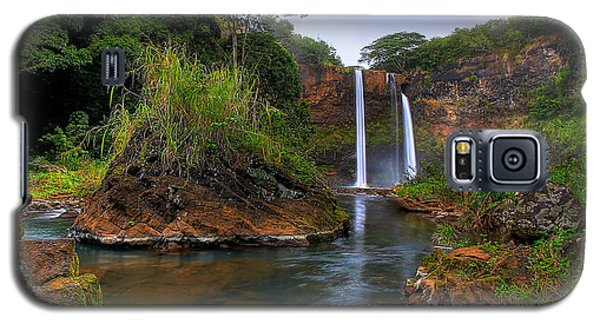 Below Wailua Falls Galaxy S5 Case